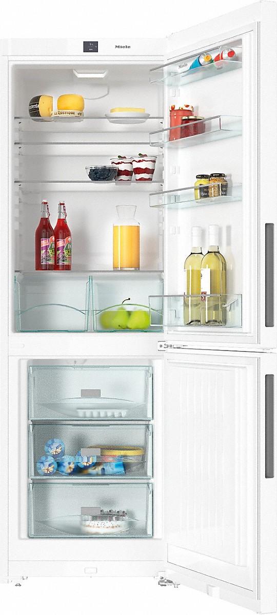 KFN 28032 D külmik-sügavkülmik, valge, eraldiseisev