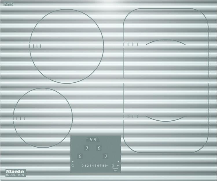 KM 6324-1 индукционная панель, белая