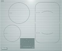 KM 6324-1 induktsioon pliidiplaat, valge, ilma raamita